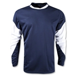 Warrior Orion Long Sleeve Shooters Shirt (Navy/White)