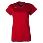 Brine Women's Essence Cap Sleeve Lacrosse Jersey (Red)