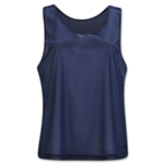 Brine Women's Collegiate Cut Reversible Practice Jersey (Navy/White)