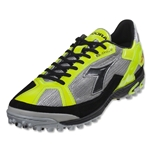 Diadora DD Fhive N TFX Turf Shoes (Silver/Black/Yellow/Fluo)