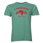 Cameroon Soccer Men's Fashion T-Shirt (Heather Green)
