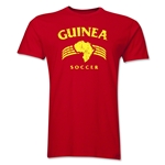 Guinea Soccer Men's Fashion T-Shirt (Red)