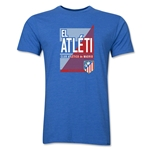 Atletico Madrid El Atleti Men's Fashion T-Shirt (Heather Royal)