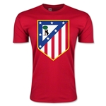 Atletico Madrid Core Men's Fashion T-Shirt (Red)