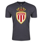AS Monaco Men's Fashion Soccer T-Shirt (Dark Grey)