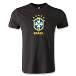 Brazil Men's Fashion T-Shirt (Black)
