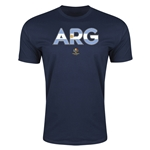 Argentina Copa America 2016 Men's Elements T-Shirt (Navy)