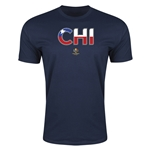 Chile Copa America 2016 Men's Elements T-Shirt (Navy)