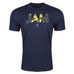 Jamaica Copa America 2016 Men's Elements T-Shirt (Navy)