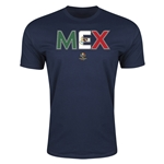 Mexico Copa America 2016 Men's Elements T-Shirt (Navy)