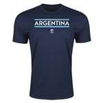 Argentina Copa America 2016 Men's Core T-Shirt (Navy)