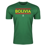 Bolivia Copa America 2016 Men's Core T-Shirt (Green)
