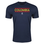Colombia Copa America 2016 Men's Core T-Shirt (Navy)