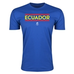 Ecuador Copa America 2016 Men's Core T-Shirt (Royal)