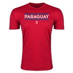 Paraguay Copa America 2016 Men's Core T-Shirt (Red)