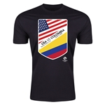 Copa America 2016 USA v Colombia Matchup T-Shirt (Black)