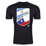Copa America 2016 Argentina v Chile Matchup T-Shirt (Black)