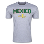 CONCACAF Gold Cup 2015 Mexico Big Logo Men's Fashion T-Shirt (Grey)