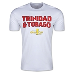 CONCACAF Gold Cup 2015 Trinidad & Tobago Big Logo Men's Fashion T-Shirt (White)