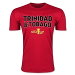 CONCACAF Gold Cup 2015 Trinidad & Tobago Big Logo Men's Fashion T-Shirt (Red)