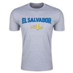 CONCACAF Gold Cup 2015 El Salvador Big Logo Men's Fashion T-Shirt (Grey)