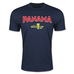 CONCACAF Gold Cup 2015 Panama Big Logo Men's Fashion T-Shirt (Navy)