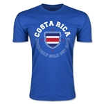 CONCACAF Gold Cup 2015 Costa Rica Men's Fashion T-Shirt (Royal)