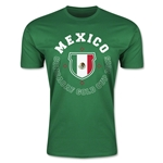 CONCACAF Gold Cup 2015 Mexico Men's Fashion T-Shirt (Green)