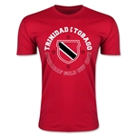 CONCACAF Gold Cup 2015 Trinidad and Tobago Men's Fashion T-Shirt (Red)