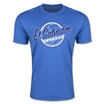 CONCACAF Gold Cup 2015 El Salvador Men's Fashion T-Shirt (Heather Royal)