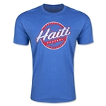 CONCACAF Gold Cup 2015 Haiti Men's Fashion T-Shirt (Heather Royal)