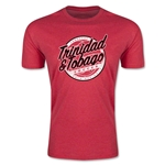 CONCACAF Gold Cup 2015 Trinidad and Tobago Men's Fashion T-Shirt (Heather Red)