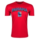 Panama CONCACAF 2015 Men's Olympic Qualifying Men's Fashion T-Shirt (Red)