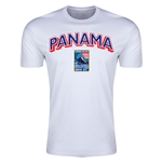 Panama CONCACAF 2015 Men's Olympic Qualifying Men's Fashion T-Shirt (White)