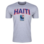 Haiti CONCACAF 2015 Men's Olympic Qualifying Men's Fashion T-Shirt (Gray)