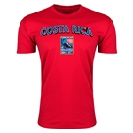 Costa Rica CONCACAF 2015 Men's Olympic Qualifying Men's Fashion T-Shirt (Red)