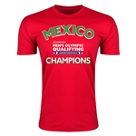 Mexico CONCACAF Men's Olympic Qualifying Champions Men's T-Shirt (Red)