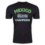 Mexico CONCACAF Men's Olympic Qualifying Champions Men's T-Shirt (Black)
