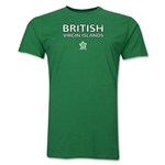 British Virgin Islands CONCACAF Distressed Men's Fashion T-Shirt (Green)