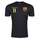 Barcelona Neymar Jr T-Shirt (Black)