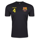 Barcelona Rakitic T-Shirt (Black)