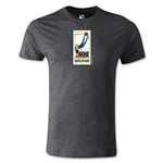 1930 FIFA World Cup Logo Men's Fashion T-Shirt (Dark Gray)