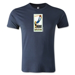 1930 FIFA World Cup Logo Men's Fashion T-Shirt (Navy)