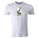 1930 FIFA World Cup Logo Men's Fashion T-Shirt (White)