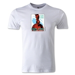 1938 FIFA World Cup Logo Men's Fashion T-Shirt (White)