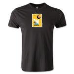 1958 FIFA World Cup Logo Men's Fashion T-Shirt (Black)