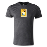 1958 FIFA World Cup Logo Men's Fashion T-Shirt (Dark Gray)