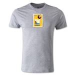 1958 FIFA World Cup Logo Men's Fashion T-Shirt (Gray)