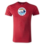 1962 FIFA World Cup Logo Men's Fashion T-Shirt (Heather Red)