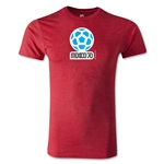 1970 FIFA World Cup Logo Men's Fashion T-Shirt (Heather Red)